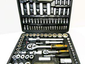 Набор инструментов 108 предметов в кейс, новый