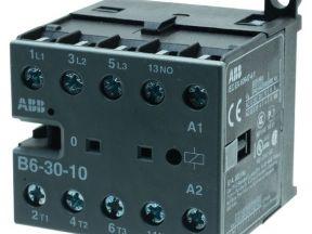 Миниконтактор Б6-30-10 9A (400В AC3) катушка 230В