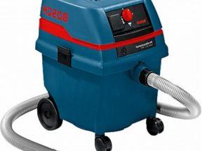 Новый промышленный пылесос Bosch GAS 25 profession