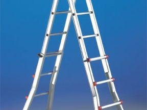 Лестница-стремянка телескопическая Scalissima