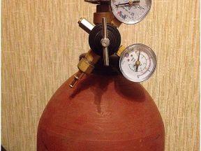 Баллон для гелия 20 литров с редуктором