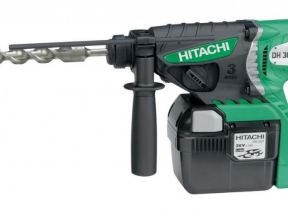 Hitachi DH36DAL перфоратор аккумуляторный