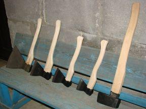 Топоры мясные и строительные Иж,Izh сталь. Колуны