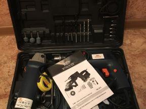 Новый набор электроинструментов 3 в 1