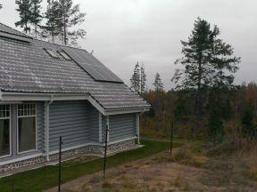 Электростанция на солнечной батареи