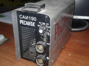 "Сварочный аппарат Ресанта ""саи-190"""