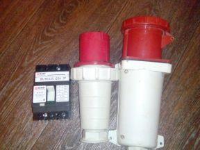 Вилка и розетка в комплекте на 380 В