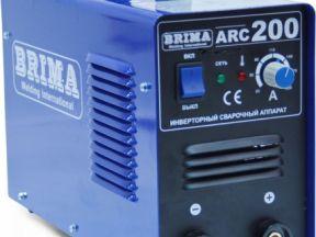 Сварочный аппарат Brima ARC200 инвертор. Новый