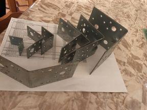 Штампы для производства крепежных уголков