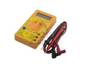 Мультиметр electraline 59002 цифровой с выносными