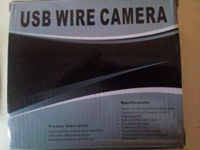 USB камера для ревизии труб с LED