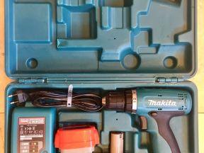 Дрель-шуруповерт аккумуляторный makita 6270 dwpe