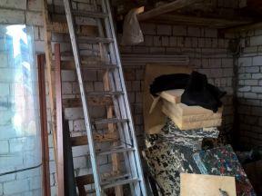 Лестница 3-х секционная, алюминиевая, 12 ступеней