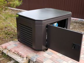 Шумозащитный кожух, контейнер для генератора