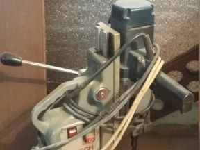 Проф. магнитная стойка с безударной дрелью
