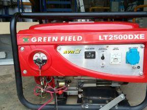 Бензиновый генератор Green Field LT 2500 DXE, 2 кВ