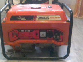 Бензиновый генератор aiken МЖ 2500