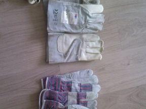 Перчатки рабочие, краги сварочные