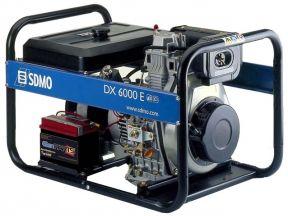 Дизельный генератор sdmo DX6000E 5,2 кВт (Франция)