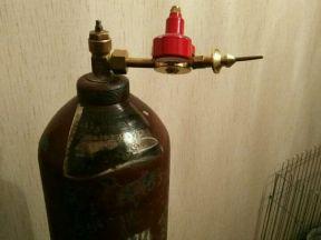 Баллон для гелия 40 литров с редуктором