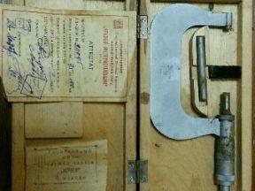 Раритетный микрометр 75-100мм 1949 г/в