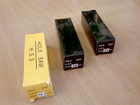 Корончатые сверла (фрезы ) 18,3 мм, 19 мм, 21 мм