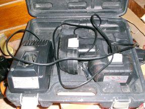 Аккумулятор Интерскол, зарядка, чемодан