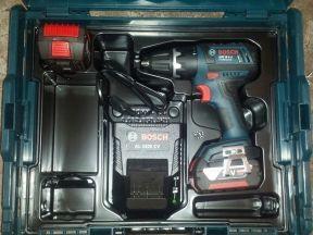 Шуроповерт Bosch GSR 18 V-Li, зу+ 2х4.0 Ah, L-Boxx