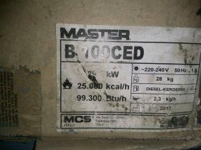 Тепловая пушка Мастер b100ced