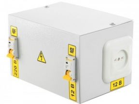 Ящик с понижающим трансформатором (новый)