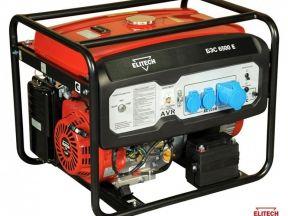 Генератор для дома или дачи Elitech бэс-6500E
