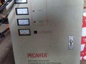 Трехфазный стабилизатор Ресанта асн 30000/3