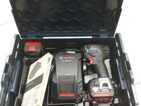 Аккумуляторный ударный гайковерт Bosch