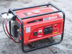 Генератор электричества (Газ,Gaz, бензин)