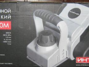 Рубанок интерскол Р-110/2000М