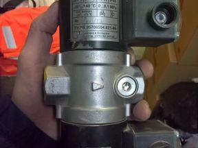 Клапан электромагнитный на Газ,Gaz вн3/4В-1К