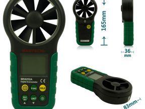 Измеритель скорости ветра (анемометр) MS6252A