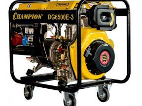 Дизельный генератор DG6500e3