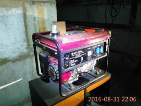 Генератор Калибр 5 кВт (электростартер)