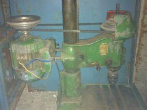 Сверлильный станок 220 вольт. модель нс12А. СССР