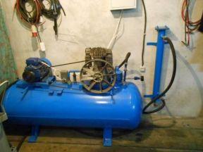 Воздушный компрессор Fini BK 120 -500