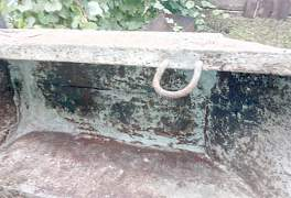 Продам строительное метал.корыто б/у