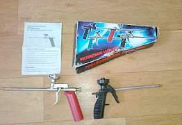 2 пистолета для монтажной пены.Обмен