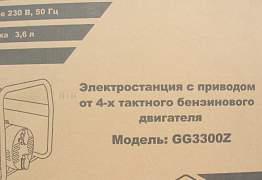 Генератор DDE GG 3300Z