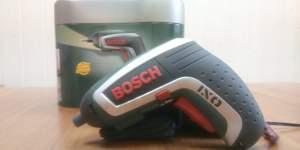 Аккумуляторная отвертка Bosch IXO IV, немного б/у
