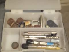Дремел полной комплектации с насадками в чемодане
