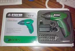 Шуруповерт-электроотвертка Stayer