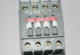 Контактор A26-30-10 (26А AC3) катушка 220В AC