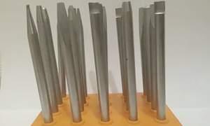 Чеканы 20 штук из СССР, набор чеканов по металлу