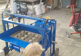Станок для блоков и бетономешалка